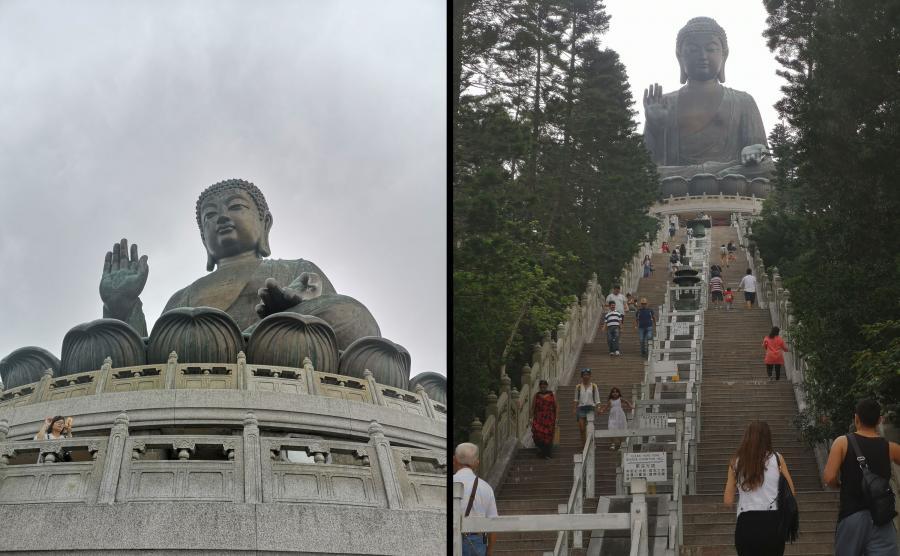 Budda i schody...