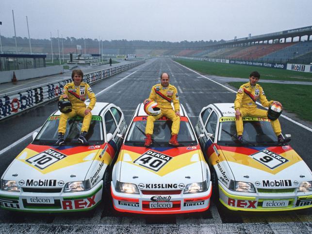 Kadett E (1984-1991) - 270-konne wersje budziły sensację w wyścigach samochodów turystycznych DTM (Deutschen Tourenwagen-Meisterschaft)