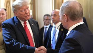 Donald Trump i Władimir Putin