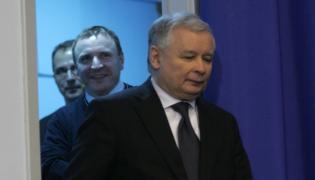 Jacek Kurski i Jarosław Kaczyński