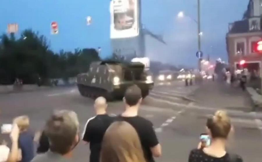 Próba przed paradą wojskową