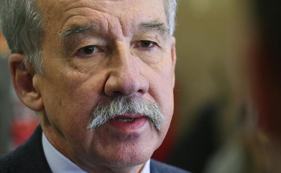 Przewodniczący Państwowej Komisji Wyborczej Wojciech Hermeliński