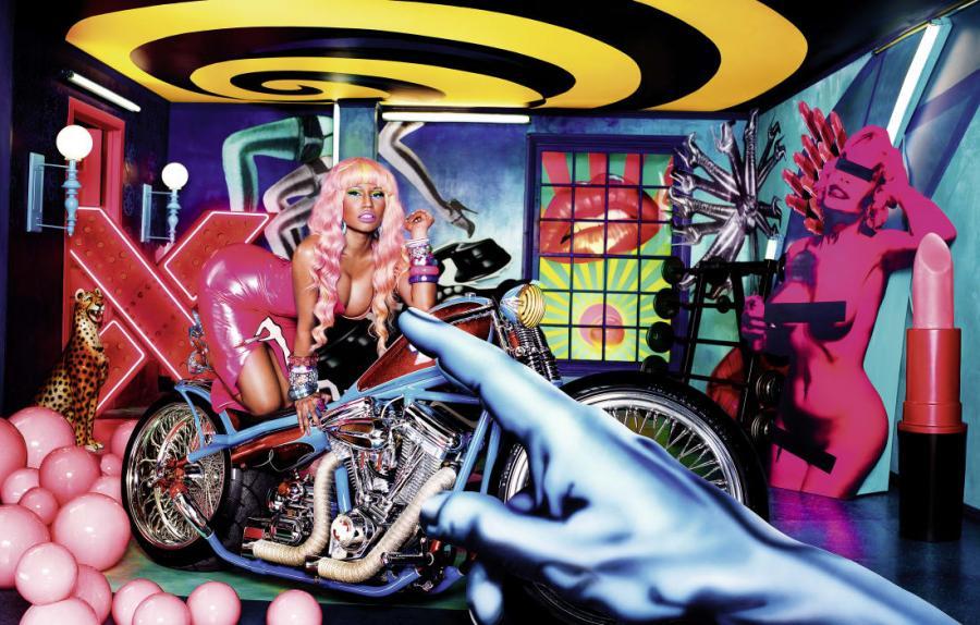 Nicki Minaj na pracy Davida LaChapelle\'a