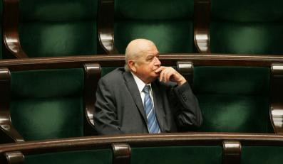 Religa był rozczarowany polityką i Sejmem