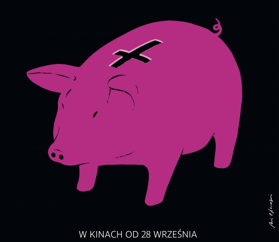 Fragment plakatu Andrzeja Pągowskiego do filmu \