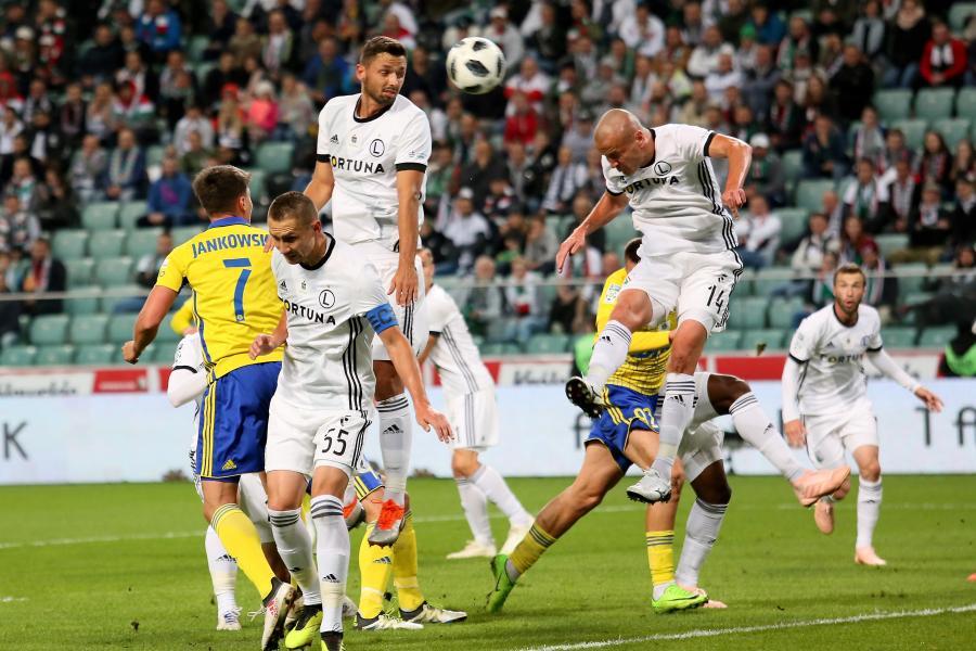 Ekstraklasa: Legia nie zatopiła Arki i zmarnowała szansę do