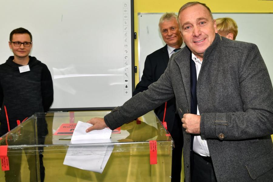 Wybory samorządowe 2018. Grzegorz Schetyna