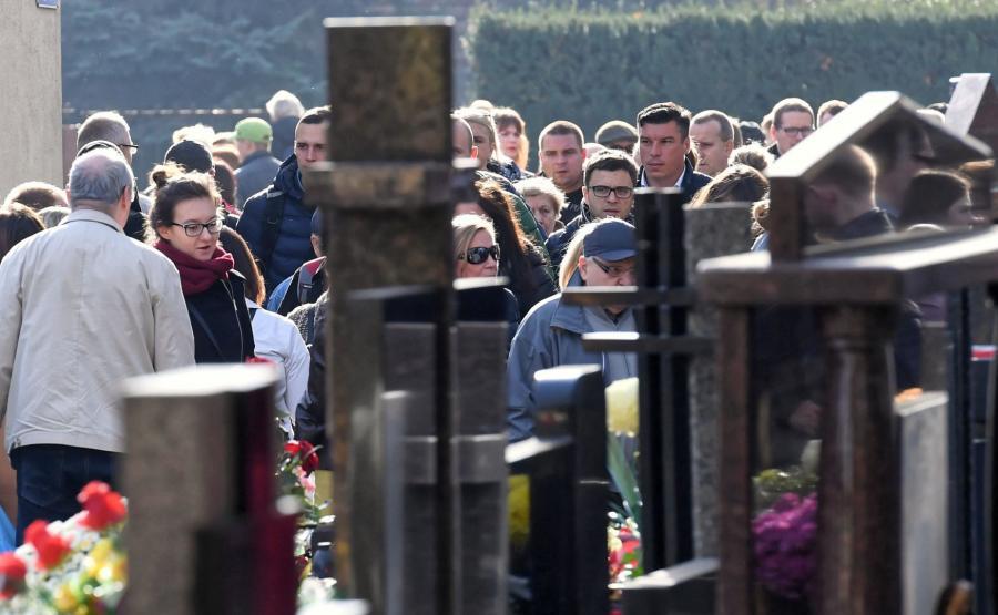 Cmentarz na warszawskim Bródnie