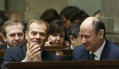 Męska rozmowa Tuska z ministrem finansów