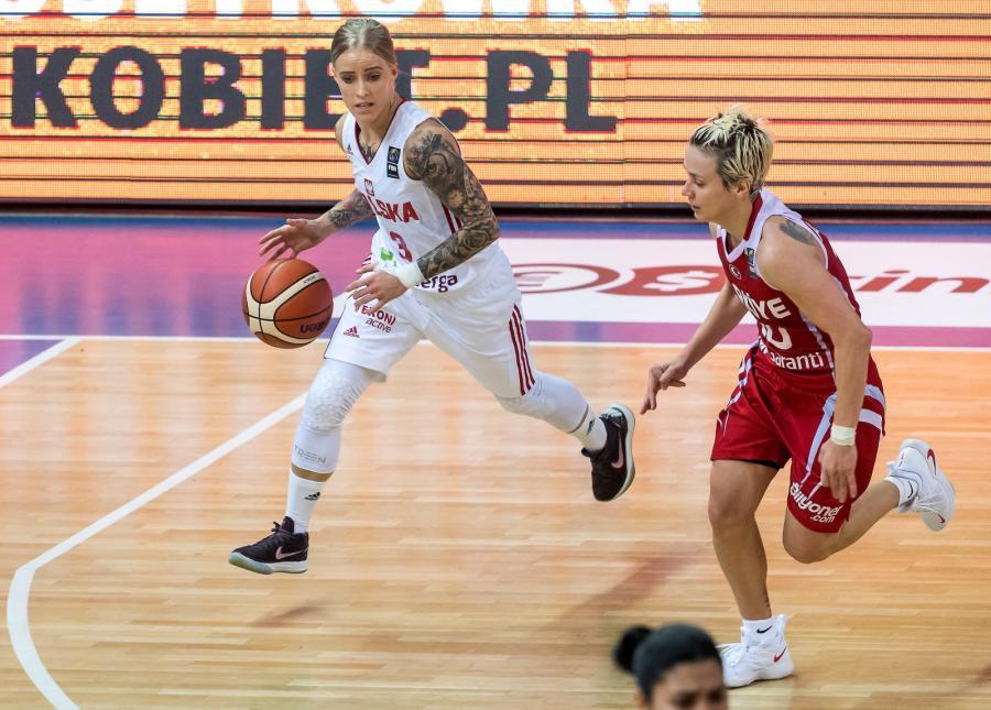 Angelika Stankiewicz (L) i Isil Alben (P)