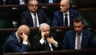 Joachim Brudziński, Jarosław Kaczyński i Mariusz Błaszczak