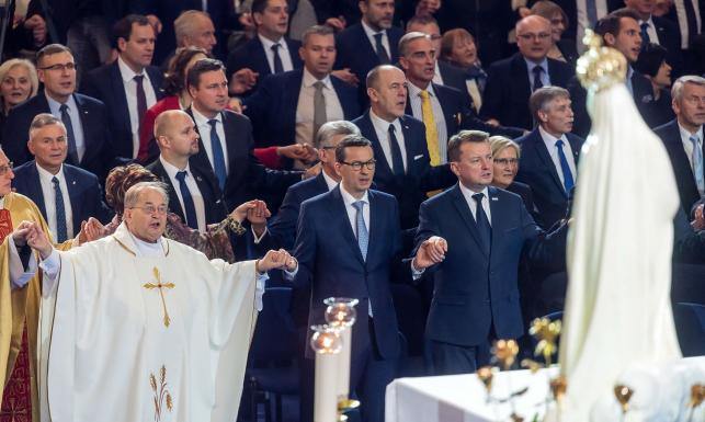 Rząd, list od prezydenta, byli ministrowie... Święto z okazji 27 rocznicy powstania Radia Maryja [ZDJĘCIA]