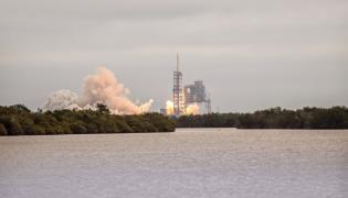 Start rakiety Falcon9
