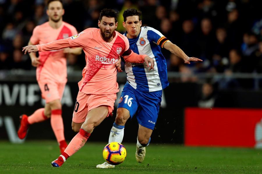 Lionel Messi i Javi Lopez