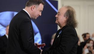Andrzej Duda i Józef Skrzek
