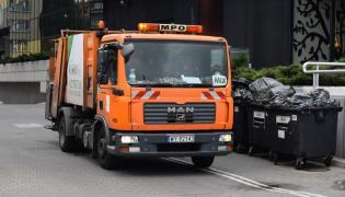 Warszawska śmieciarka