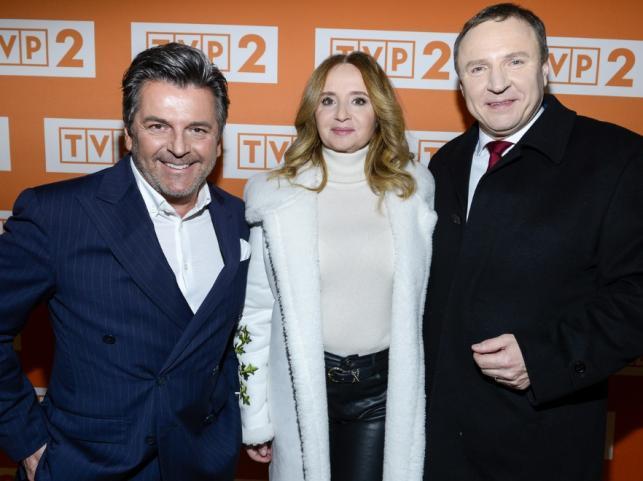 Thomas Anders oraz Joanna Kurska i Jacek Kurski