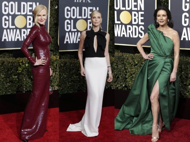 Nicole Kidman, Charlize Theron i Catherine Zeta-Jones