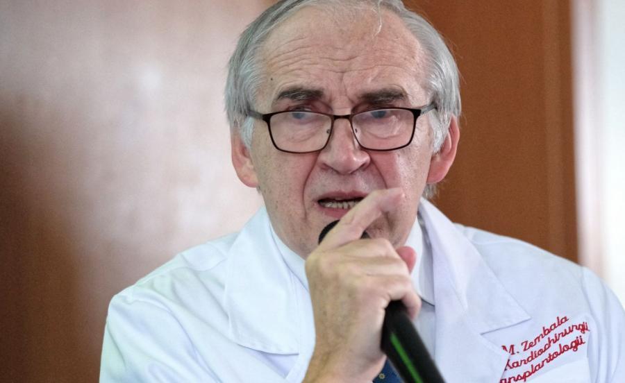 Były minister zdrowia, profesor Marian Zembala