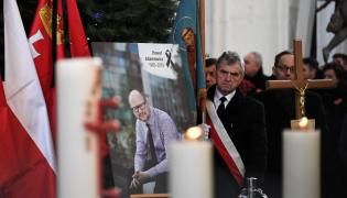 Uroczystości pogrzebowe prezydenta Gdańska Pawła Adamowicza