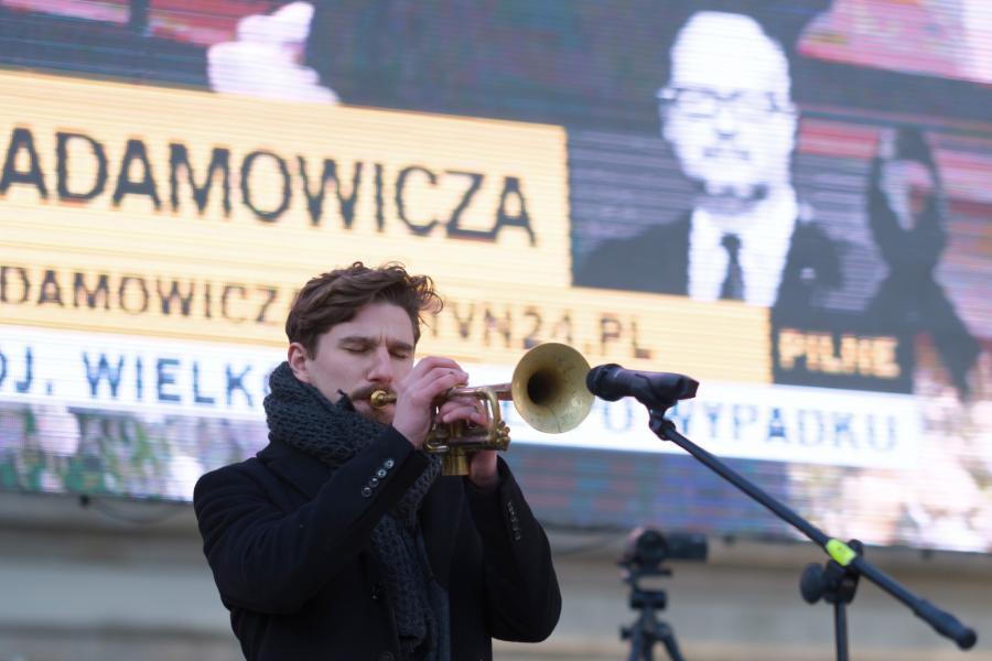 Poznań żegna prezydenta Adamowicza