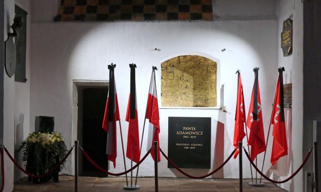 Zagraniczni goście, byli premierzy i prezydenci oraz zwykli obywatele... Zobacz ZDJĘCIA z pogrzebu Pawła Adamowicza
