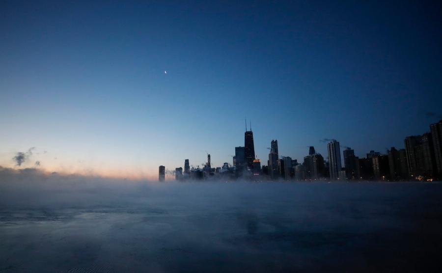 Chicago w okowach mrozu