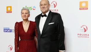 Jacek Kasprzyk z żoną