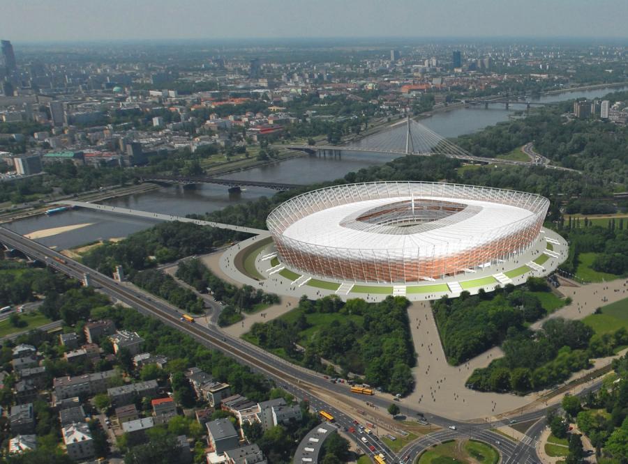 A to Stadion Narodowy w Warszawie za złotych... miliard!