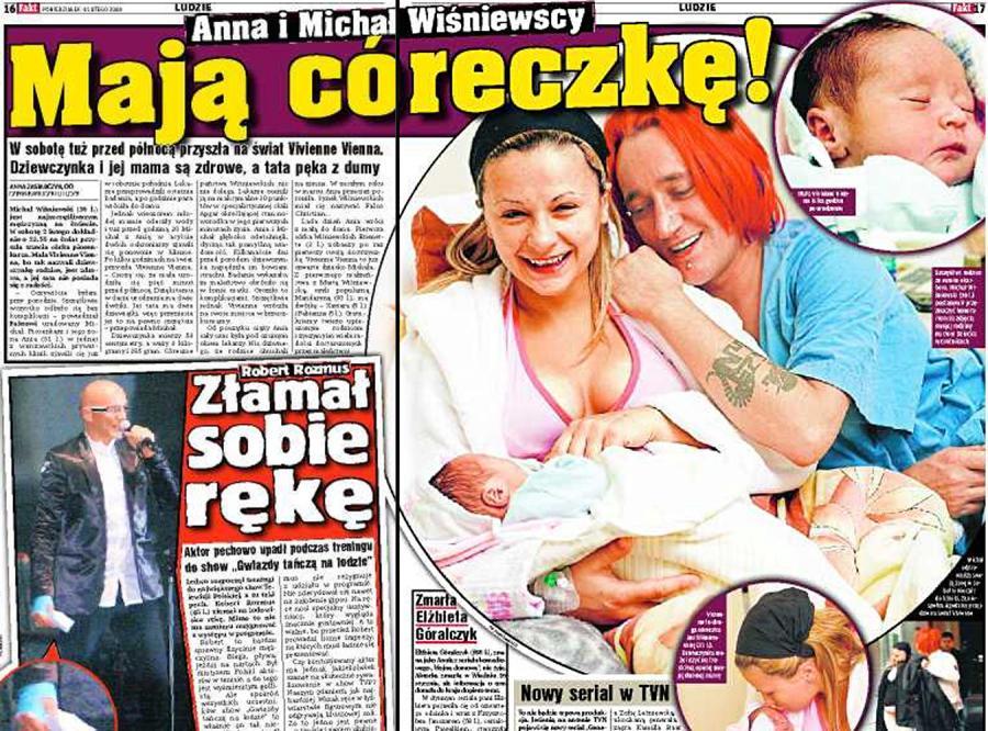 Wiśniewscy mają córeczkę!