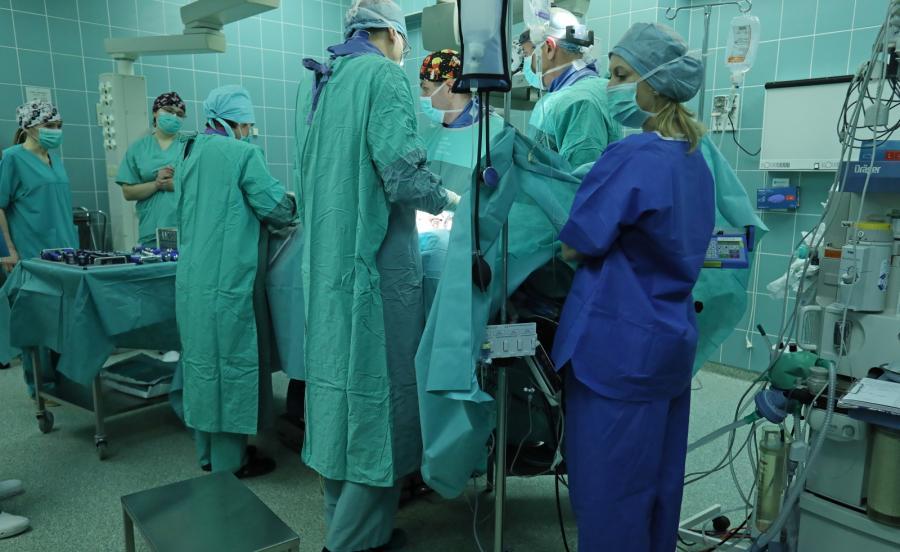 Pierwszą w Polsce, nowatorską operację kręgosłupa przeprowadzono w klinice Ortopedii i Traumatologii Dziecięcej Uniwersyteckiego Dziecięcego Szpitala Klinicznego w Białymstoku
