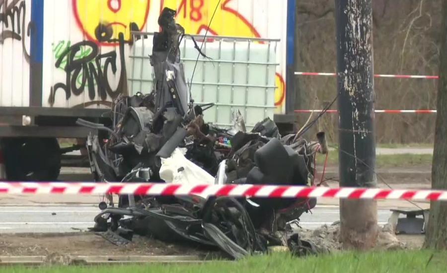 Wypadek na Puławskiej w Warszawie