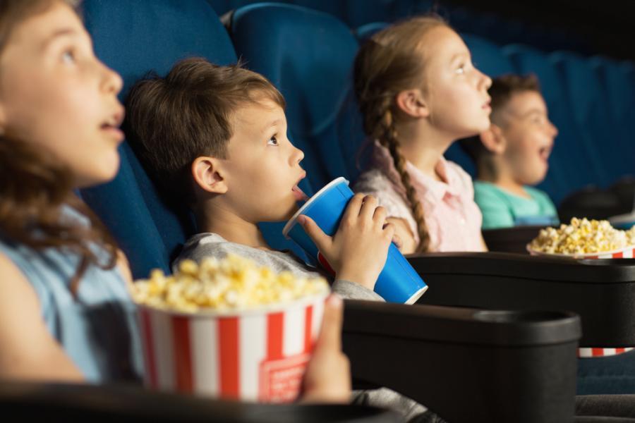 Dzieci w kinie