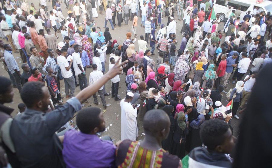Protest w Sudanie