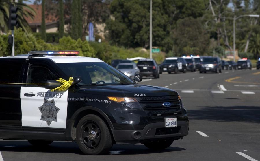 Amerykańska policja w Poway