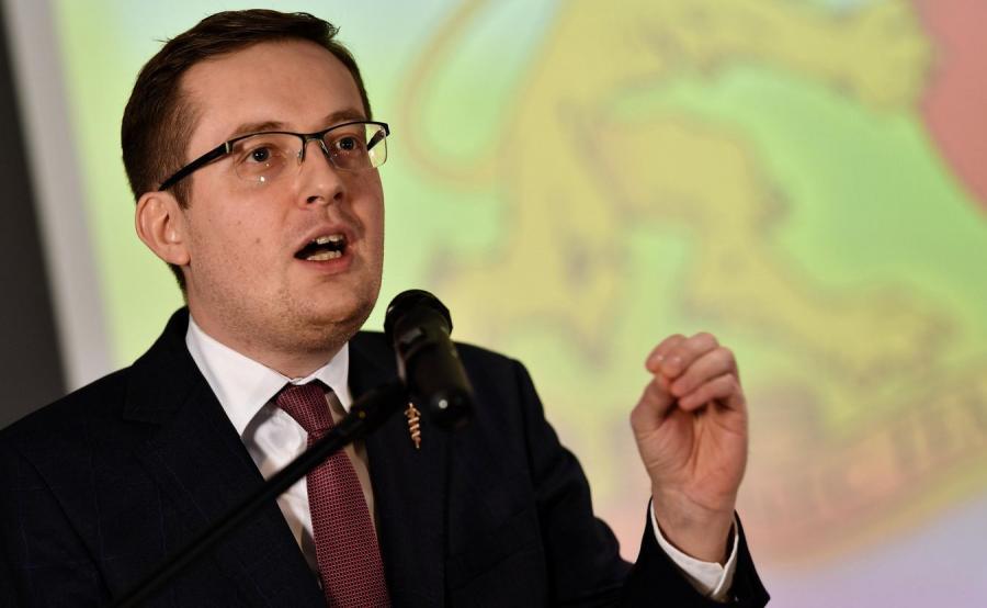 Prezes Ruchu Narodowego poseł Robert Winnicki
