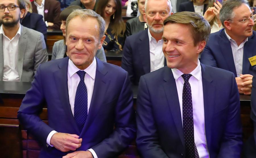Leszek Jażdżewski i Donald Tusk