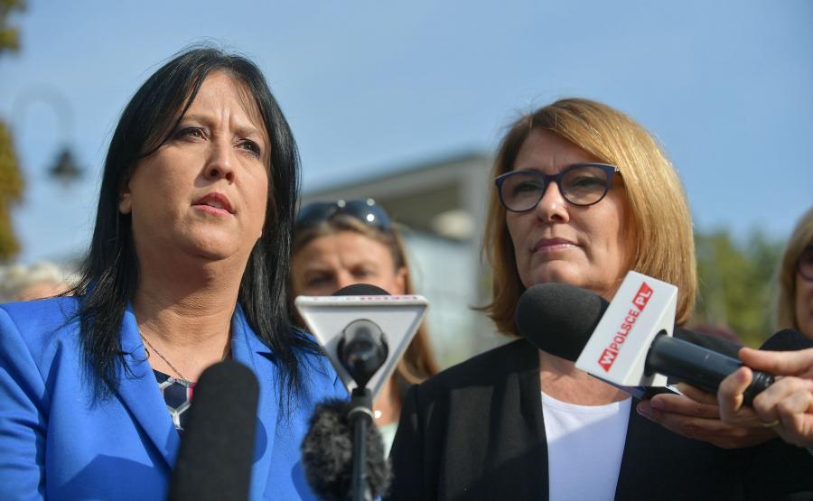 Anita Czerwińska i Beata Mazurek