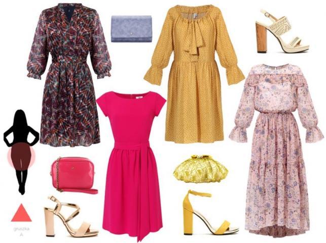 e4cf606d08a425 Sukienki odpowiednie dla sylwetki GRUSZKA: brązowa sukienka - Midori  Feminine Fashion/midori.pl