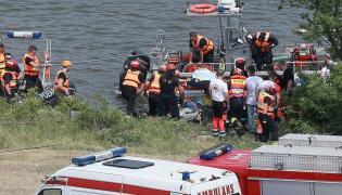 Płock, służby na miejscu wypadku