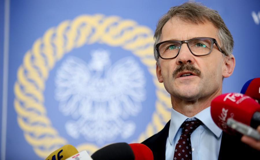 Przewodniczący KRS sędzia Leszek Mazur