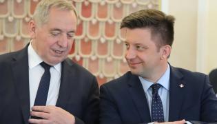 Michał Dworczyk rozmawia z Henrykiem Kowalczykiem