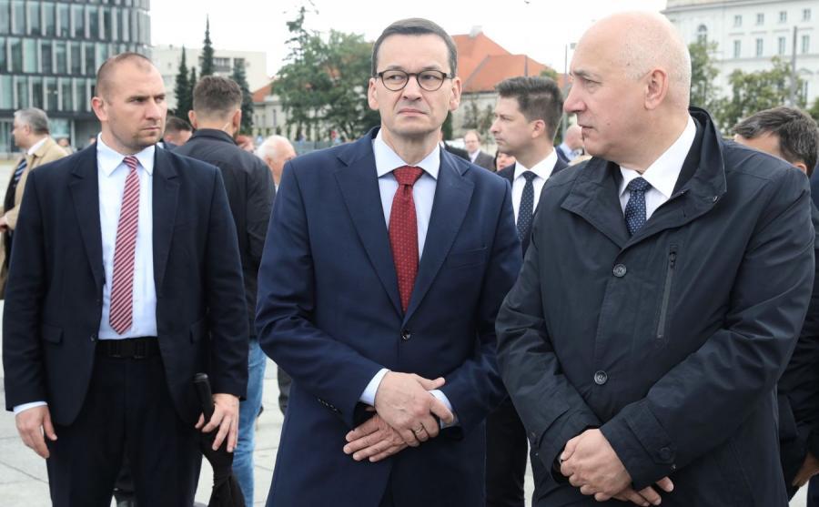 Mateusz Morawiecki i Joachim Brudziński