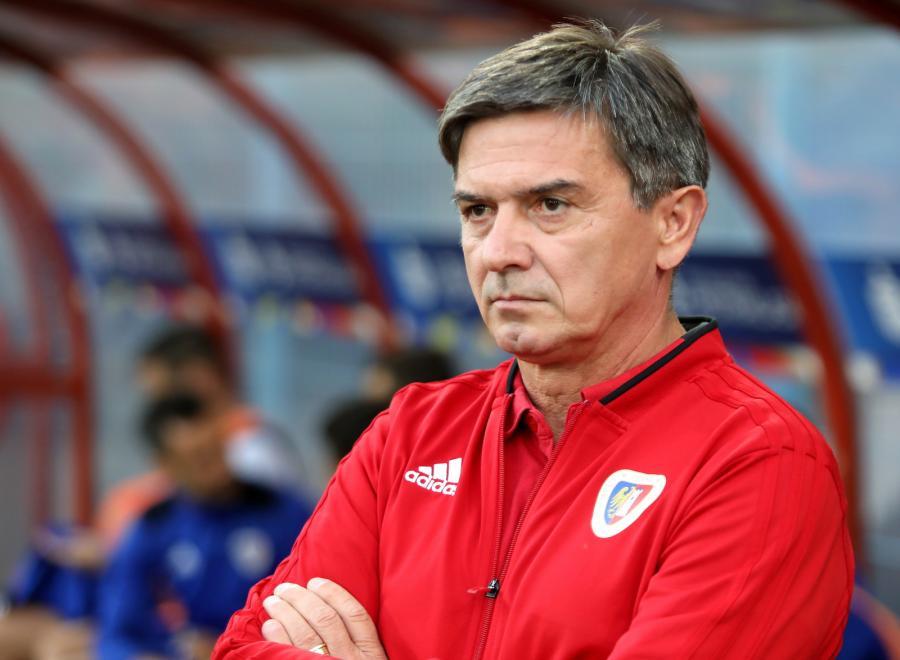 Trener piłkarzy Piasta Gliwice Waldemar Fornalik