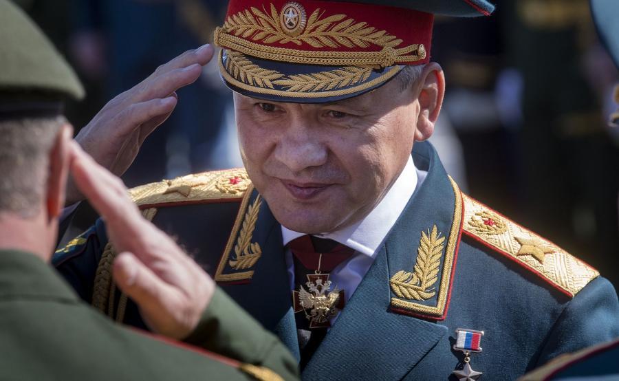 Minister obrony Siergiej Szojgu