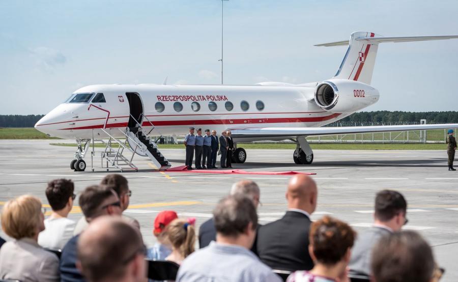 Rządowy samolot Gulfstream G550