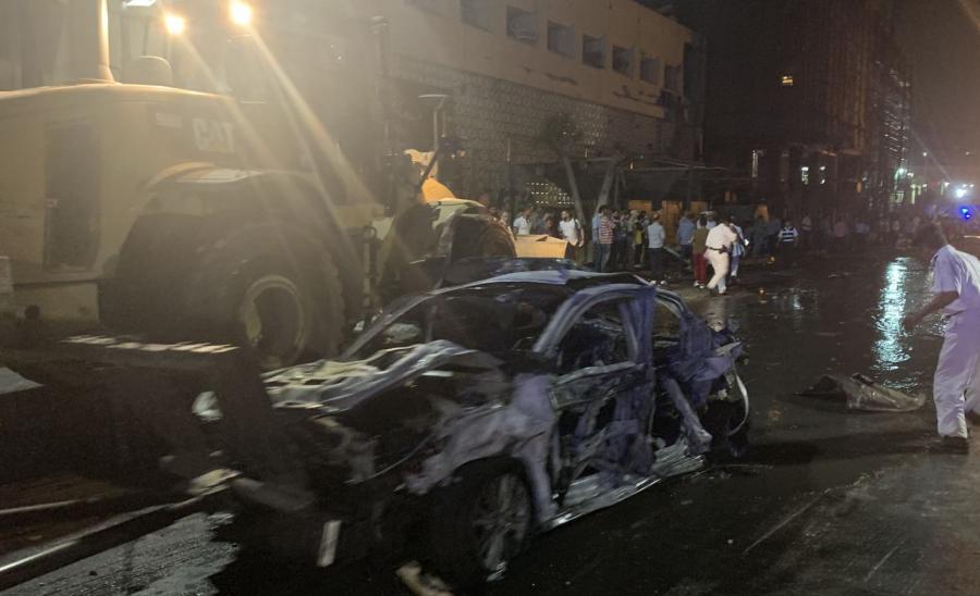 Eksplozja w Kairze