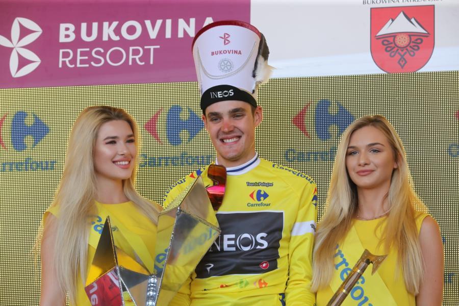 Paweł Siwakow z grupy Ineos wygrał 76. Tour de Pologne