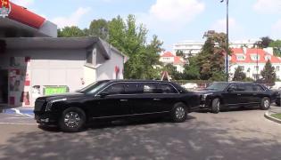 Bestie tankują na Orlenie w Warszawie