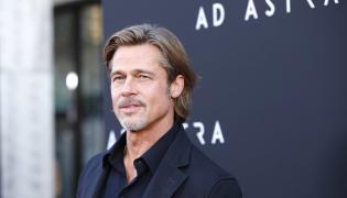 "Brad Pitt na premierze filmu ""Ad Astra"""